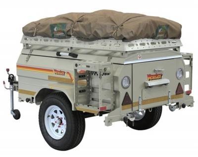 Savuti Off Road Trailer Tent - Venter Camping Trailers UK