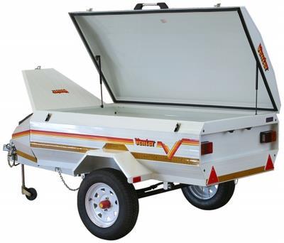 elite 6 leisure trailer venter camping trailers uksuper 5 luggage trailer on stand nosecone diagram